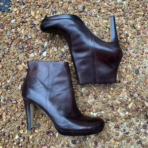 Franco Sarto A-Lustre Leather Upper Boots